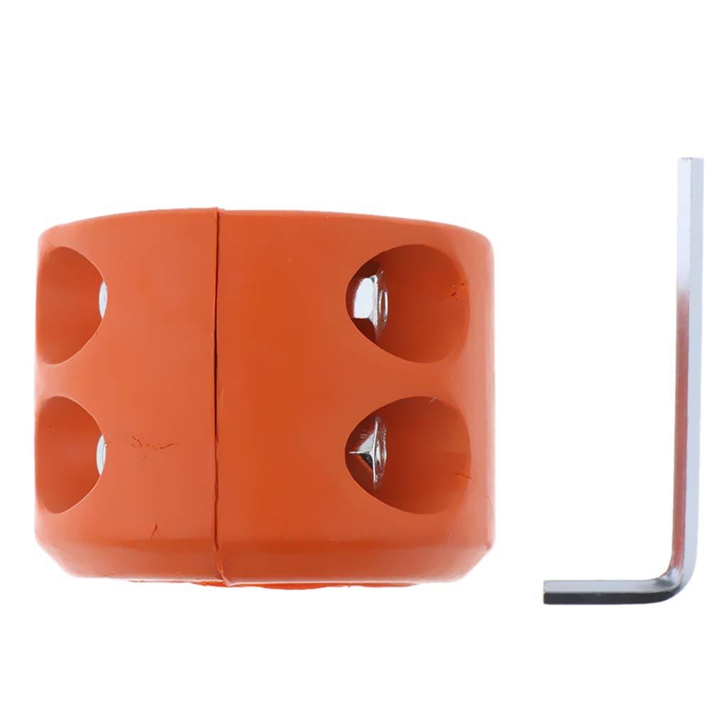 Orange FLAMEER Windenschraube Gummikabel Fahrzeug f/ür ATV UTV Windengummieleitung Gummikissen
