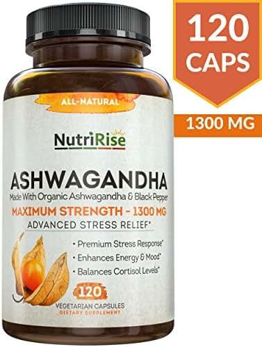 Vitamins & Supplements: NutriRise Ashwagandha