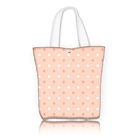 Amazon.com  Stylish Canvas Zippered Tote Bag -W17.7 x H14 x D7 INCH ... a7870494d1c0e