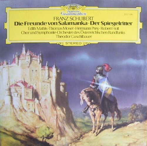 Schubert: Die Freunde von Salamanka / Der Spiegelritter (Mitschnitt anläßlich der Schubertiade Hohenems 1978) [Vinyl Schallplatte] [Doppel-LP]