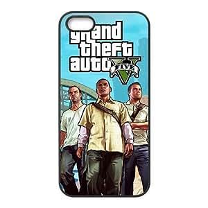 iPhone 5, 5S Phone Cases Black Grand Theft Auto LSDE5492721