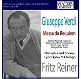 Verdi Requiem. (Leonie Rysanek Soprano. Regina Resnik Mezzo-Soprano. David Lloyd Tenor. Gio