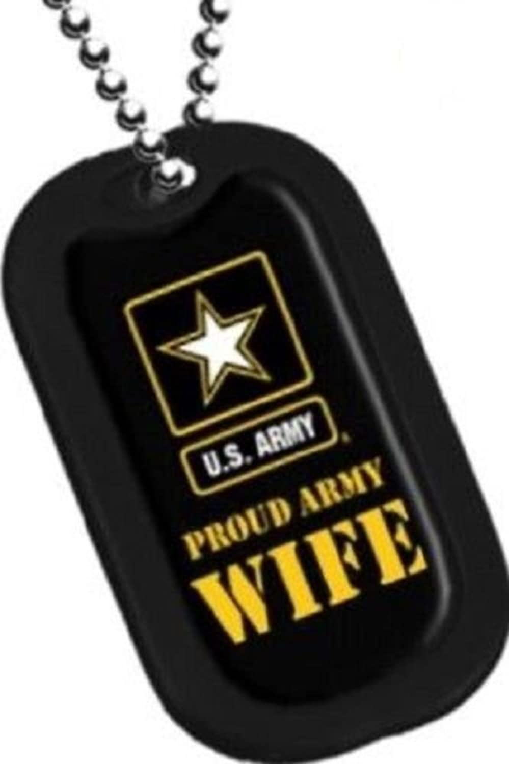 60off United States Army Armed Forces Proud Army Wife Yellow Star