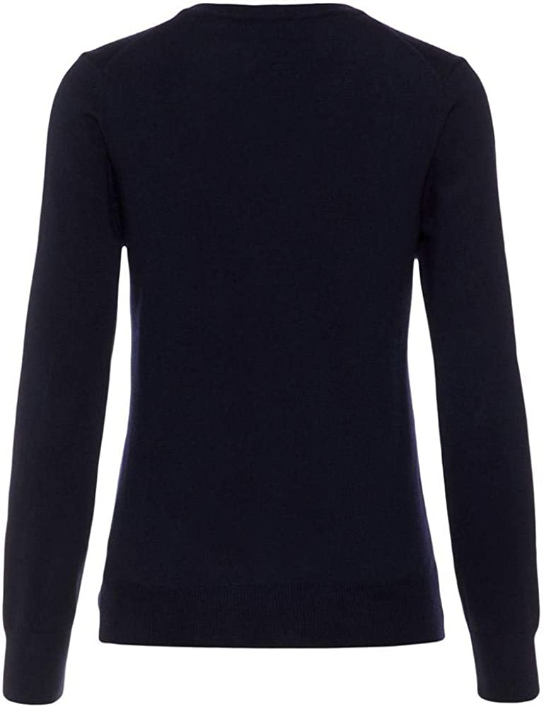 J.Lindeberg Womens V-Neck Merino Wool Sweater