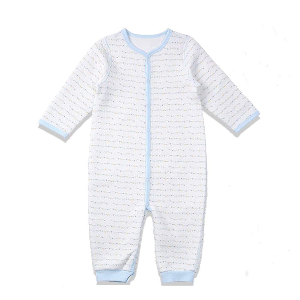 i-baby Sleepsuits Boys Girls Winter 3-6 6-12 12-18 Months Bodysuit Onesies Premium Matelasse PIMA Cotton Baby Romper Packed in Nice /& Free Gift Box