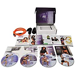 ZOMLAN 21 Day Fix Extreme Workout Program Set with Eating Plan and B-Lines Resistance Band