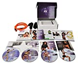 ZOMLAN 21 Day Fix Extreme Workout Program 4 DVD Set with B-Lines Resistance Band and Eating Plan ... (21day FIX)