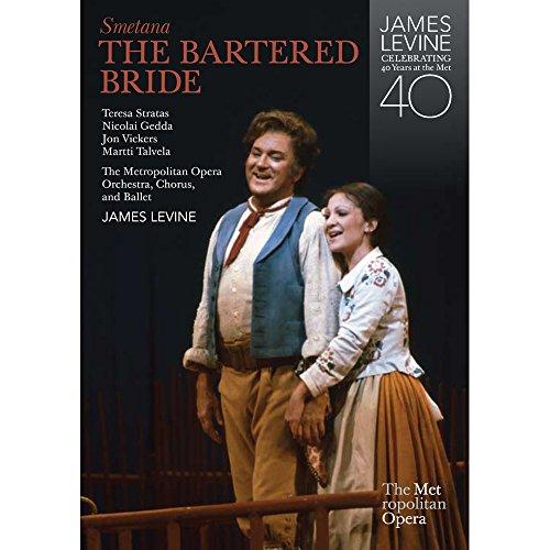 Bartered Opera Bride - Smetana: The Bartered Bride (2 DVD) - Levine, Stratas, Met Opera