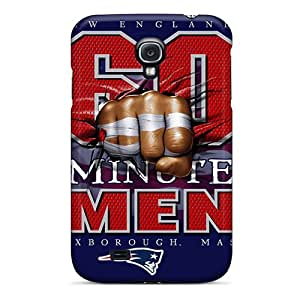 Pretty Hkw2411nfnM Galaxy S4 Cases Covers/ New England Patriots Series High Quality Cases
