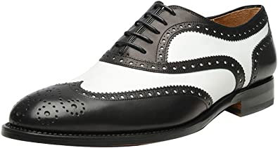 Wing Tip Perforated Dress Shoes