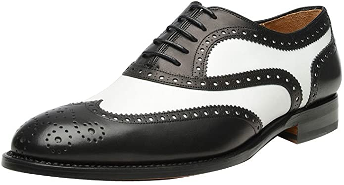 ROYAL WIND Genuine Leather Spectator Shoes
