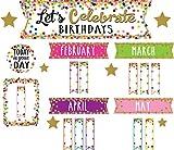 preschool birthday chart - Confetti Let's Celebrate Birthdays Mini Bulletin Board