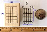Guitar Chord Stamp (Large) - 5 Fret
