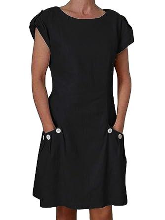 1e60fa9afdb Flying Rabbit Women Beach Dresses Sleeveless with Beautiful Details Summer  Dress  Amazon.co.uk  Clothing