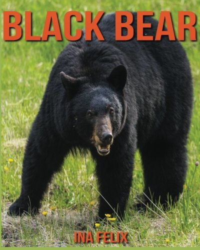 Black Bear: Children Book of Fun Facts & Amazing Photos on Animals in Nature - A Wonderful Black Bear Book for Kids aged 3-7