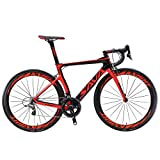 SAVADECK Phantom 2.0 700C Carbon Fiber Road Bike SHIMANO Ultegra 8000 22 Speed Group Set with MICHELIN 25C Tire and Fizik Saddle