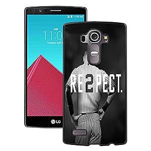 Beautiful Designed Case With Derek Jeter RE2PECT New York Yankees Black For LG G4 Phone Case