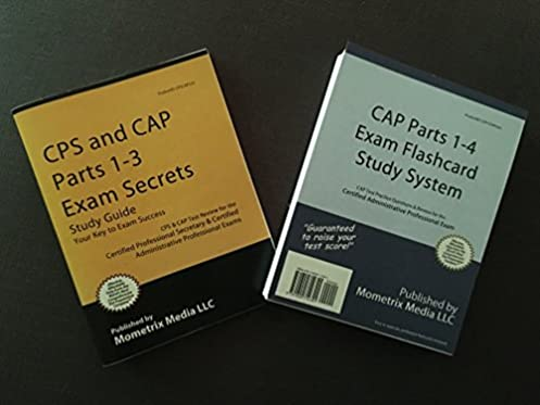 cps and cap parts 1 3 exam secrets study guide cps cap test rh amazon com Certified Administrative Professional Study Material Certified Professional Secretary Examination