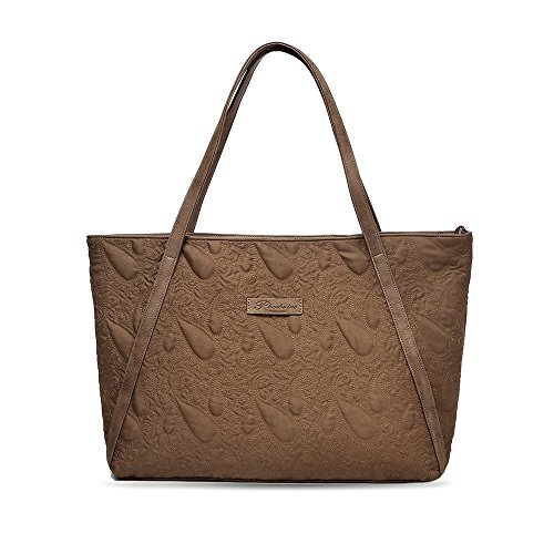 Quilted Large Handbag - 6