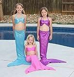 Hand-made Mermaid Swim Tail for Swimming
