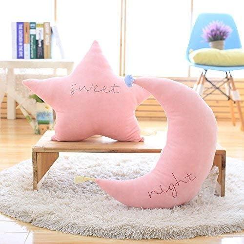 Moon Cloud Star Pillow Cushion Kids Nursery Childs Room Bedding Home Decor