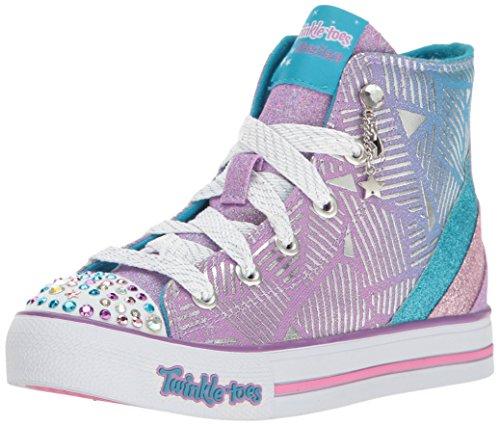Skechers Kids Kids' Step up-Glitzy Kicks Sneaker - Lavend...