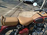 Sahara Royal Enfield/Classic 350/500/Brown/TAN Seat Cover & Tank Cover