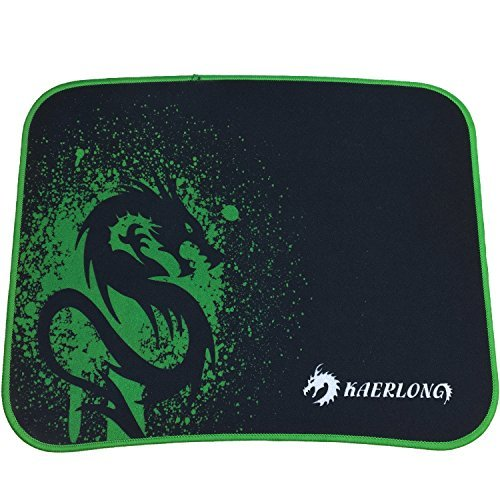 Dragon Gaming Mouse Pad Pequeño con baja fricción Tracking superficie & Goma Antideslizante grip – Funciona con World...