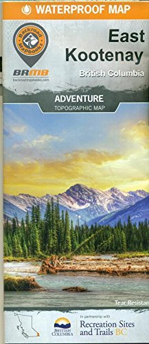 BEST! East Kootenay British Columbia Hiking Map EPUB