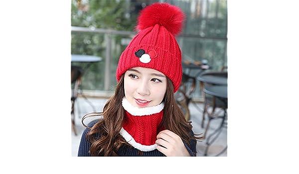 beanie Master-Halloween Navidad Sombreros Otoño Invierno Hat Espesada Hat señoras  Gorro Protectores de oído-Gorro de Punto Jefe TAPÓN 28e450005ed