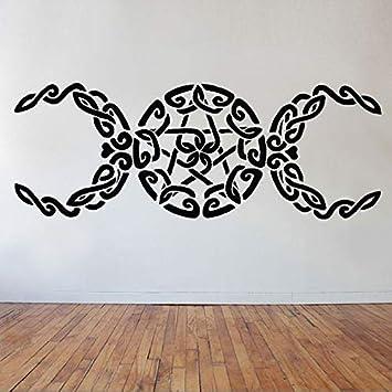 Adesivi Giganti Per Pareti.Tripla Dea Wall Art Adesivi Giganti Per La Camera Di Yoga