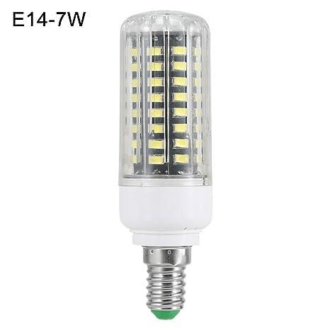 Cutowin B22/E12/E14/E27 - Bombilla LED de maíz (85-