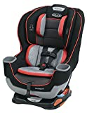 Graco Extend2Fit Convertible Car Seat, Solar, Negro