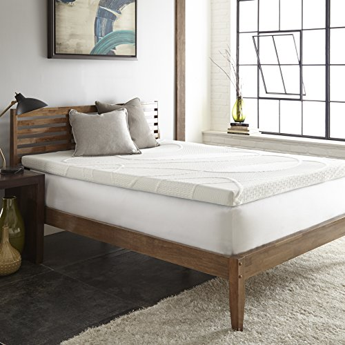 Perfect Cloud Gel Fusion 2-Inch Memory Foam Mattress Topper by (King) – Sleep Cooler and Wake Up Refreshed on Gel-Infused Comfort Memory Foam – NEW 2018 MODEL