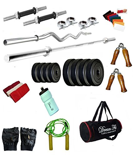 0ed406bd16 Dreamfit 20 Kg Home Gym With 4 Rods (1X5Ft
