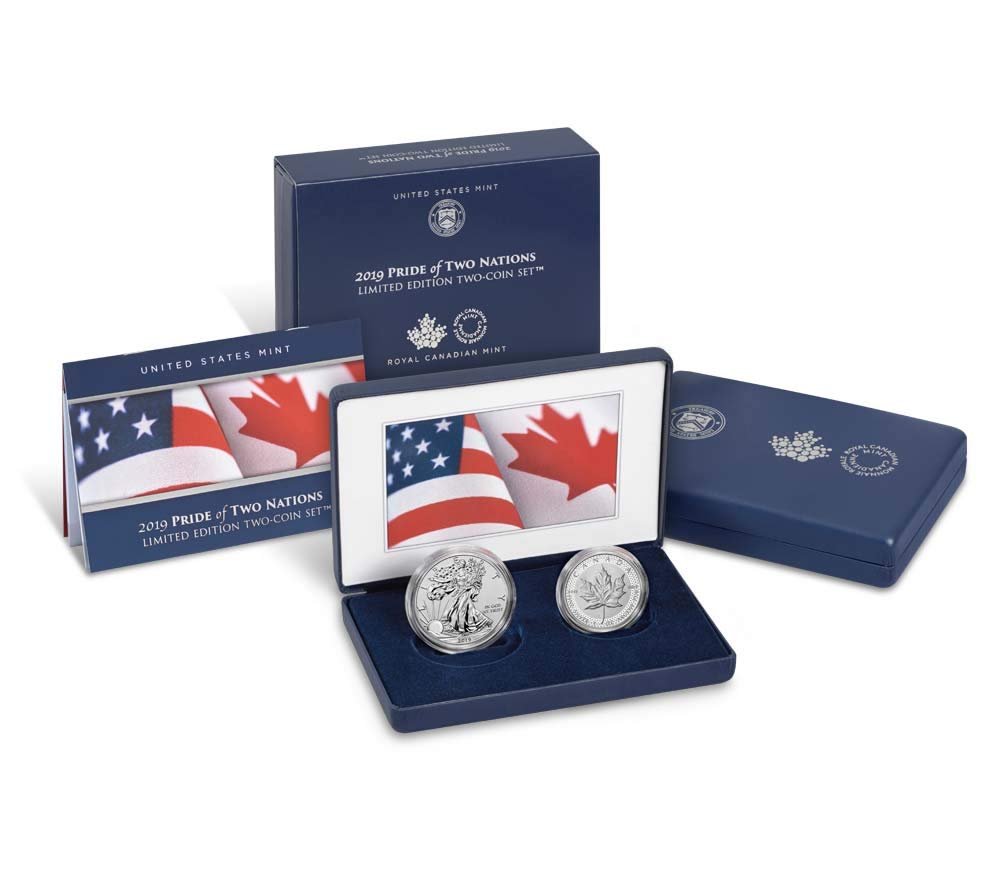 2019 Pride of Two Nations Two Coin Set NGC PF70 Early Releases
