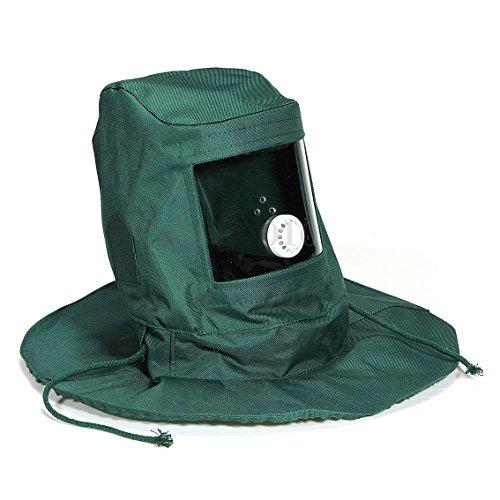 Mask Cap - SODIAL(R) Sand Blasting Hood Abrasive Sandblaster Mask Cap Wind Dust Anti Protective Tool