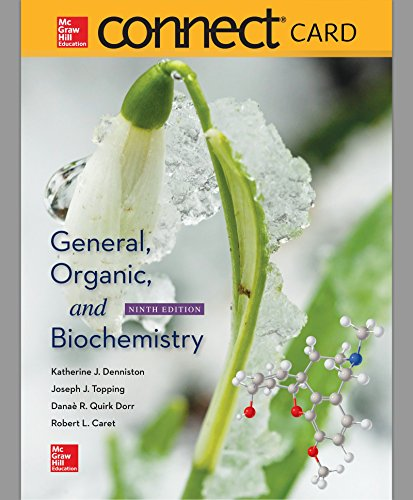Connect 2-Year Access Card for General, Organic, and Biochemistry