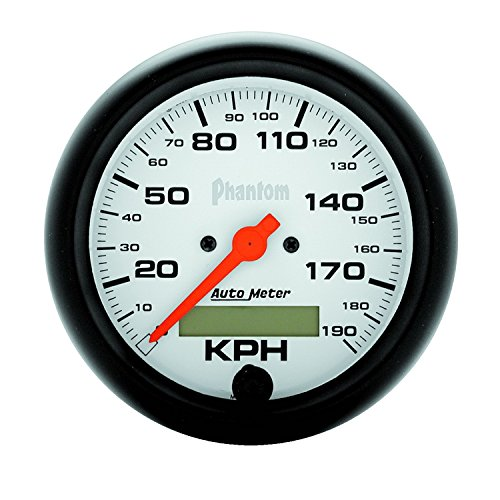 Auto Meter 5887-M Phantom In-Dash Electric Speedometer