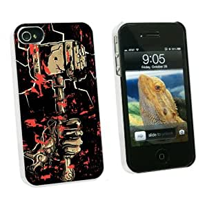 Graphics and More Hand Hammer and Blood - Hephaestus Vulcan Thor - Snap On Hard Protective Case for Apple iPhone 5c - White - Carrying Case - Non-Retail Packaging - White