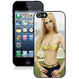 NEW DIY Unique Designed iPhone 5s Generation Phone Case For Valeria Lukyanova Phone Case Cover