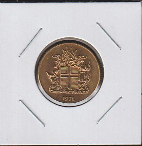 1971 IS Shield with Supporters, Date Below $1 Very Choice Uncirculated