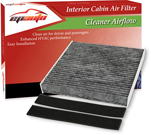 EPAuto CP140 (CF10140) Replacement for Nissan/Infiniti/Mitsubishi Premium Cabin Air Filter includes Activated Carbon