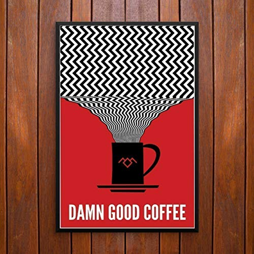 (Twin Peaks, Damn Good Coffee! Poster or Framed Print)