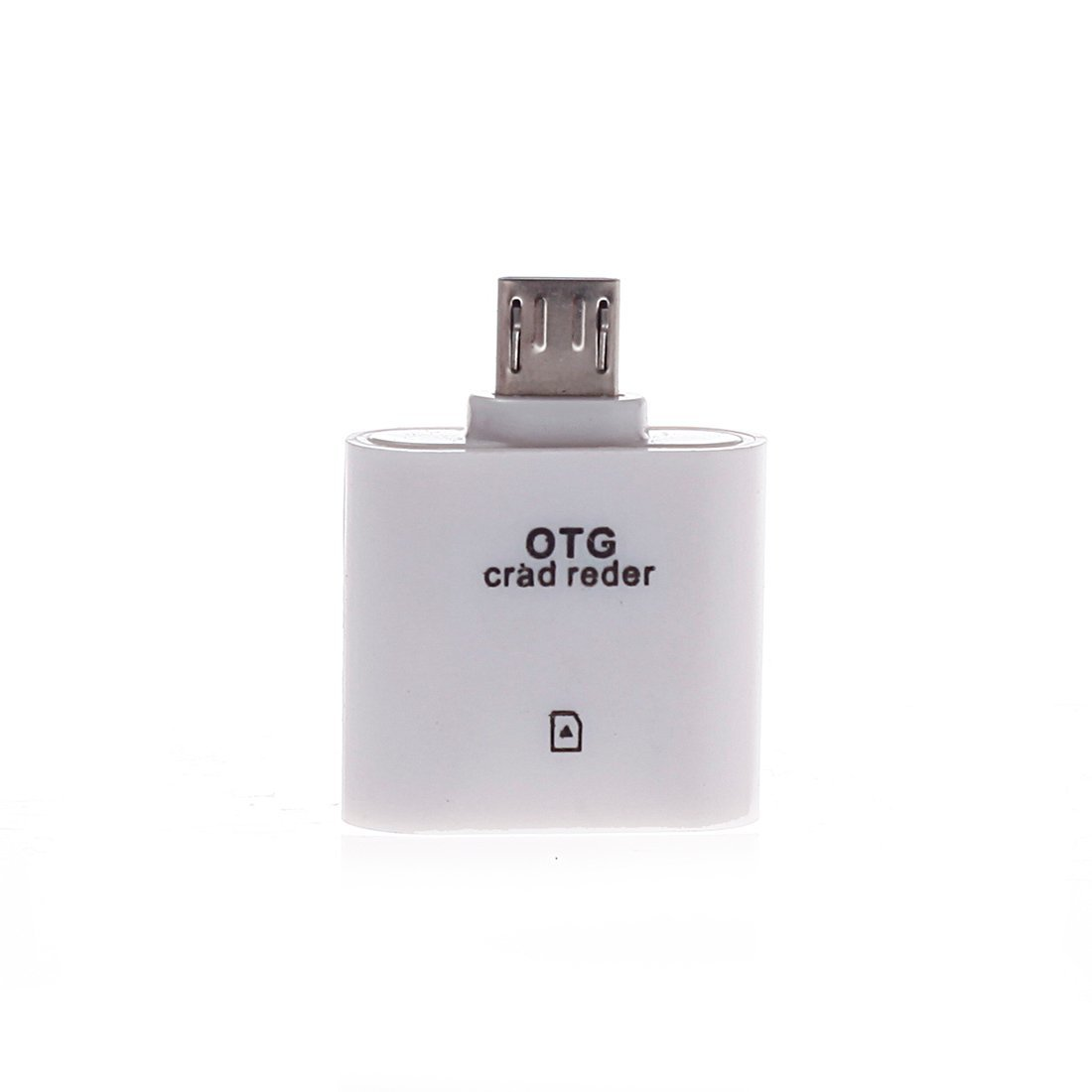 USB 2.0 Memory Card Reader Writer Adapter for MMC SDHC TF Card UP To 64GB HF