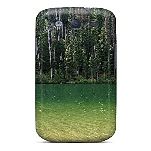 taoyix diy Galaxy S3 Case, Premium Protective Case With Awesome Look - Truly Green