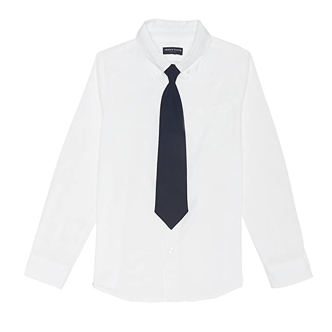 0ee91612f52 Image Unavailable. Image not available for. Color  French Toast Boys Long  Sleeve Dress Shirt with Tie ...