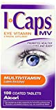 lcon ICaps Multivitamin Eye Vitamin & Mineral , Coated Tablets , 100 tablets (Pack of 4) , lcon-def8