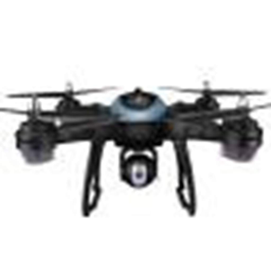 Ljnuanrg WiFi FPV Drone - Dual GPS 1080P HD Camera Quadcopter,One Key Return Function,Follow Me,WiFi Control,Real Time Transmission,LED Light (Blue)