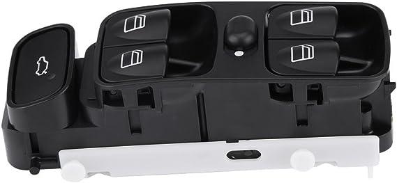 KIMISS Interruptor de Encendido de Las Ventanas maestras del Coche para W209 CLK320 CLK500 2003-2009 A2098203410